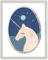 Pottery Barn Kids Unicorn Dreams Wall Art by Minted(R) 8x10