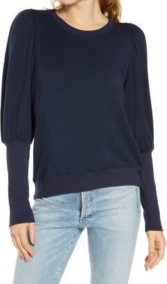Sundry Puff Shoulder Sweatshirt