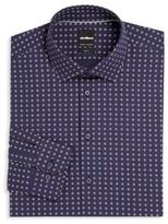Strellson Floral Slim-Fit Dress Shirt
