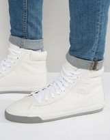 Polo Ralph Lauren Harvey Mid Leather Trainers