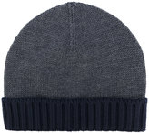 Eleventy ribbed trim beanie - men - Virgin Wool - One Size
