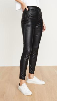 BB Dakota Nice Stems Vegan Leather Leggings
