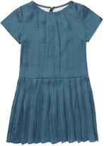 Jigsaw Girls Drop Waist Pleat Dress