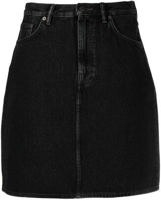 Acne Studios A-line denim skirt