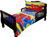 Sesame Street Elmo 4 Piece Bed Set