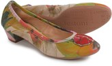 a. testoni Floral Pumps - Leather (For Women)
