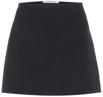 Valentino Wool miniskirt