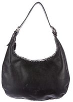 Fendi Selleria Leather Hobo
