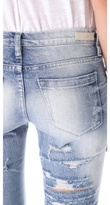 Blank Distressed Jeans