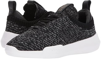 K-Swiss K Swiss Gen-K Icon Knit (Black/Gray Heather) Women's Tennis Shoes