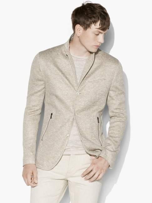 John Varvatos Zip Pocket Jacket