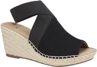 White Mountain Espadrille Wedge Sandals - Gabbie