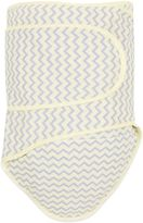 Miracle Blanket Chevron Swaddle in Yellow/Grey