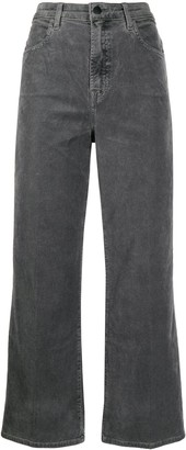 J Brand High Rise Cropped Jeans