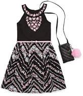 Knitworks Knit Works Sleeveless Skater Dress - Big Kid Girls