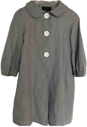Jill Stuart Grey Cotton Coat for Women