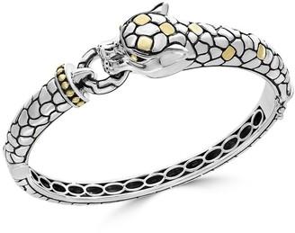 Effy Sterling Silver & 18K Yellow Gold Dragon Bracelet