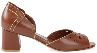 Sarah Chofakian Pierre leather sandals
