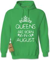 Expression Tees Hoodie August Queens Are Born Adult