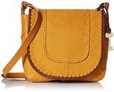 Fossil Lennox Small Saddle Bag-Artisan Gold