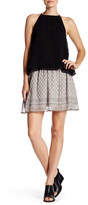 Joie Cabrini Printed Silk Skirt