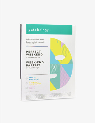 Patchology Flashmasque Perfect Weekend sheet masks pack of three