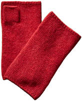 Portolano Fingerless Cashmere Gloves