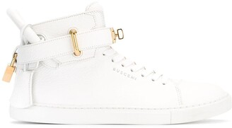 Buscemi high-top trainers