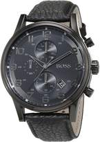 HUGO BOSS Men's 1512567 Leather Analog Quartz Watch
