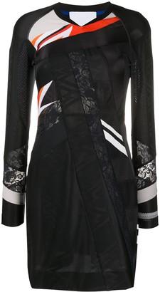 Koché Lace Panel Dress