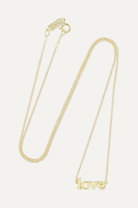 Jennifer Meyer Love 18-karat Gold Necklace - one size