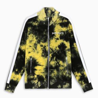 Palm Angels Purple tie-dye track jacket