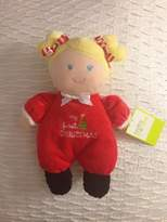 """Baby Starters 9"""" My First Christmas Plush Doll Rattle"""