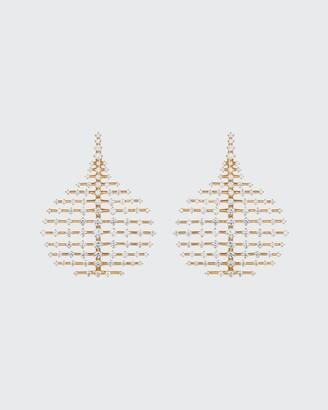 Fernando Jorge Small Disco 18k Diamond Earrings