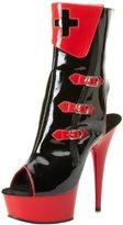 Funtasma Women's Nurse-110/B-R Ankle Boot