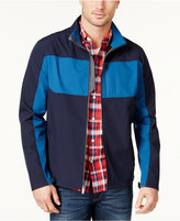 London Fog Men's Colorblocked Soft Shell Jacket