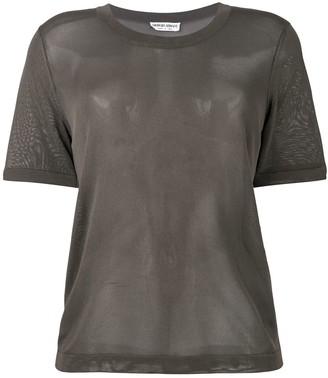 Giorgio Armani Pre Owned crew neck T-shirt