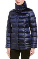 Escada Sport Wool-Trim Down Jacket