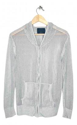 AllSaints Grey Cotton Knitwear & Sweatshirts