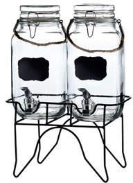Jay Import Co Newcastle Beverage Dispensers Set