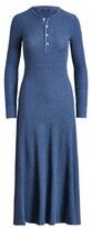 Thumbnail for your product : Ralph Lauren Cotton Henley Dress