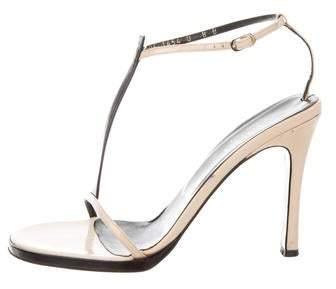 Sandals T Patent Patent Sandals Patent Leather T Leather Strap Strap Fl1c3KJT