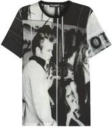 Dolce & Gabbana James Dean Printed Cotton T-shirt