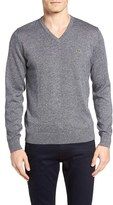 Lacoste Men's Jersey V-Neck Sweater