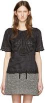 Isabel Marant Black Azara Vintage Blouse