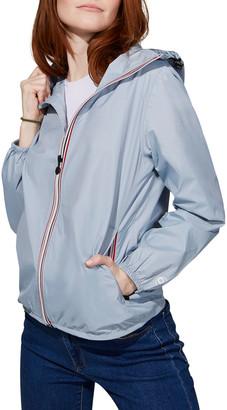 O8 Lifestyle Sloane Full-Zip Packable Rain Jacket