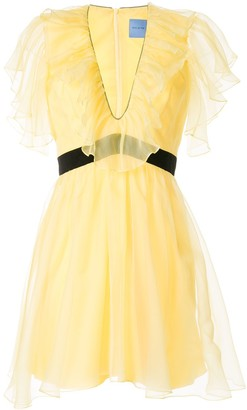 macgraw Sandpiper ruffled dress