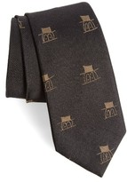 Alexander Olch Men's Little Guy Woven Silk Tie