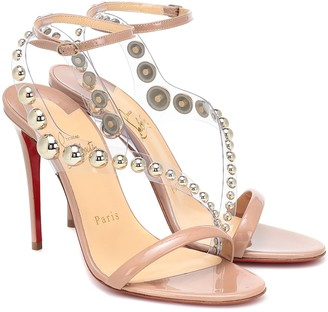 Christian Louboutin Corinetta 100 embellished sandals