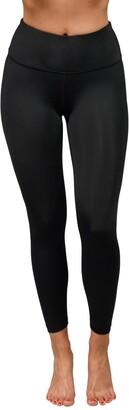 90 Degree By Reflex Wonderflex Elastic Free High Waist Capri Leggings